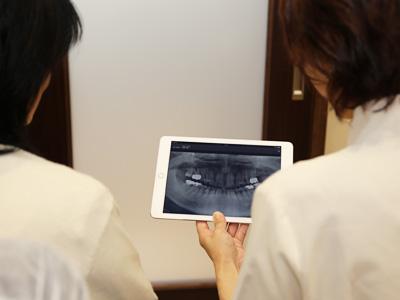 iPadによる説明